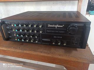 Amplifier soundscraftsmen