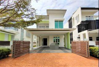Bare unit like new 2 storey link bungalow Casa Idaman Setia Alam