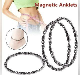 Black Hematite Magnetic Therapy Anklet Weight Loss Slimming
