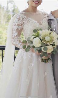 Bryan Peralta Designs bridal gown