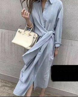 Dress Maxi soft blue