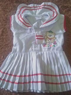 Dress sailor untuk nb-3bulan