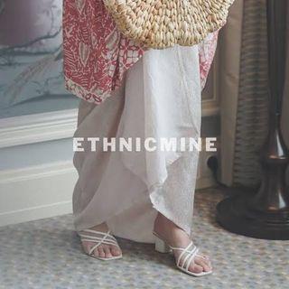 Ethnicmine Skirt Pearl Rok lilit Rok ikat batik etnik viscose