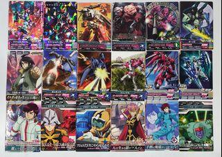 Gundam Tryage Carddass Japan Collectible Cards