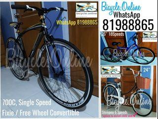 Harris Bicycles. City, Fixie and Mountain Bikes from $159. Brand New!