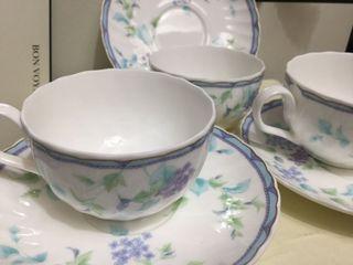 hoya japan teacups and saucer