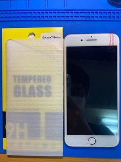 Iphone玻璃貼半版 型號全部都有