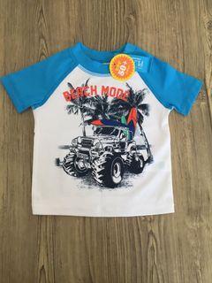 Kaos renang baby merk place size 12-18m