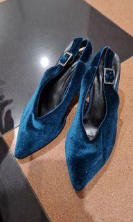 Marks and spencer shoes sepatu bludru ORIGINAL STORE
