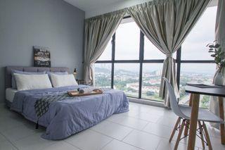 【Can Get FREE 1 month RENTAL during MCO】Master Room with Bathroom at Astetica Residences, Seri Kembangan
