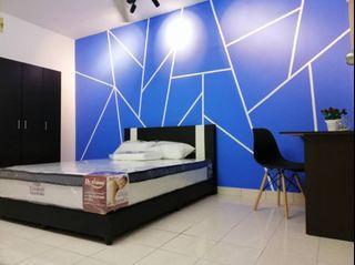 【Can Get FREE 1 month RENTAL during MCO】Master room with bathroom at Palm Spring, Kota Damansara