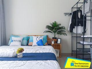 【Can Get FREE 1 month RENTAL during MCO】Medium room with fan at One Damansaraa Condo, Damansara Damai
