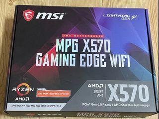 MSI MPG X570 GAMING EDGE WIFI 主機板