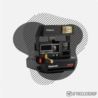 Polaroid 600 Supercolor 635 CL Instant Film Camera - REFURBISHED