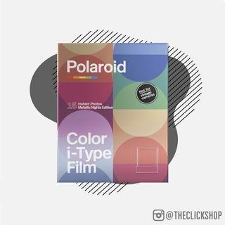 Polaroid i‑Type Color Film Double Pack ‑ Metallic Nights Edition