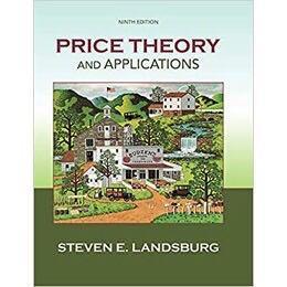 Price Theory and Applications 9th 版本 個體經濟學 經濟學 必備用書 台大經研所 電子