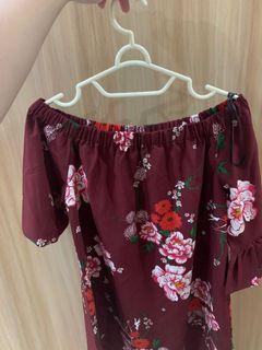 Sabrina dress flower h&m