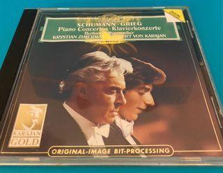 Schumann ans Grieg piano concerto