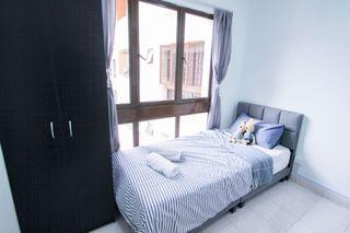 【Can Get FREE 1 month RENTAL during MCO】Single bedroom with aircond at Palm Spring, Kota Damansara