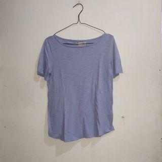 Uniqlo Blue Top Tshirt