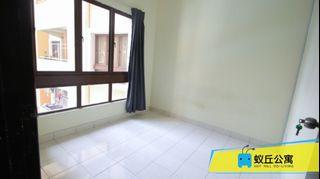 【Can Get FREE 1 month RENTAL during MCO】Vacant Room with Aircond, (Facing Swimming Pool View) at Palm Spring, Kota Damansara