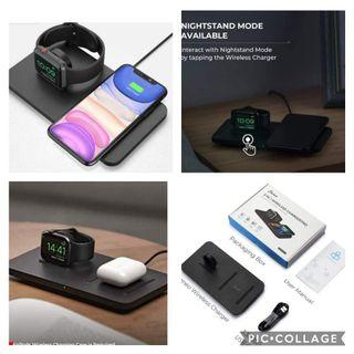 2 in 1 Wireless Charging Pad US