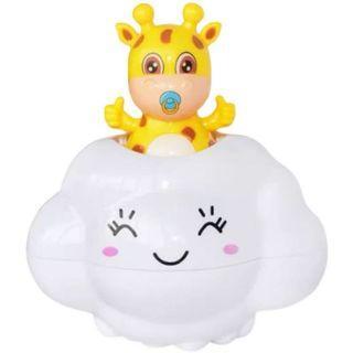 寶寶兒童洗澡玩水玩具 小鹿雲朵下雨玩具