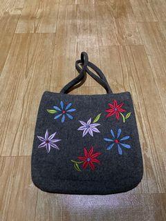 Cozzi small floral shoulder bag