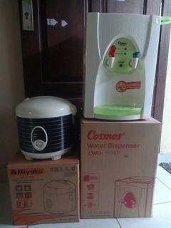 Dispenser dan rice cooker