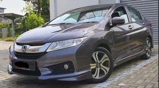 Honda City V spec