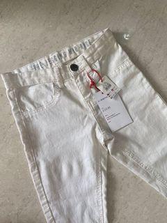 Jeans putih plain