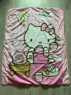 二手KT粉色薄棉被 卡通棉被 被毯 小棉被