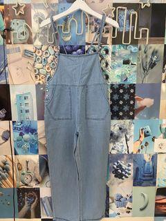 Overall Loose jeans