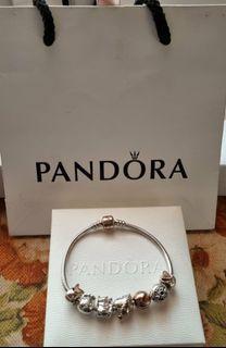 Pandora bracelet charms all original
