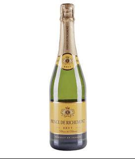 Prince de Richemont French Brut  Champagne 法國 香檳 汽酒 行貨 其他平嘢是水貨充行貨