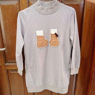 Sweater Semi Tunik Anak