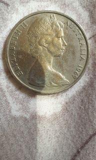 1967 Australia 20 cents