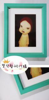 ✨奈良美智✨明信片含框(最新款)🇯🇵日本購入🇯🇵