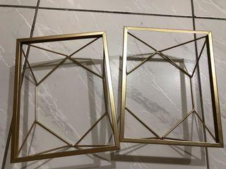 歐系風格金色鐵框造型相框🖼️