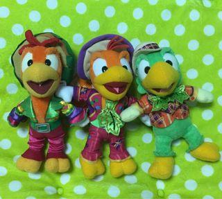 東京迪士尼 唐老鴨 西班牙三紳士 三騎士 娃娃吊飾 別針吊飾