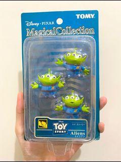 絕版 中古  迪士尼 反斗奇兵 三眼仔 公仔 擺設 擺件 收藏 disney toy story pixar alien figure toys doll 三眼仔 magical collection tomy