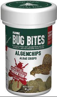 柴灣水中情 Fluval Bug Bites昆蟲沉底魚糧40g藻類脆片 A7360