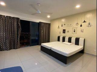 [ For Rent ] Trefoil Setia Alam, Shah Alam, Next To Setia City mall, Part Furnished Unit