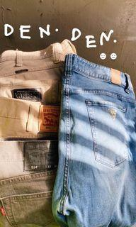 古著 vintage 牛仔褲 34-38腰