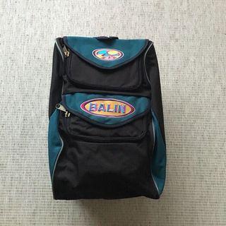 古著包 vintage | Balin | 澳洲品牌 早期 復古 山系 綠 黑 撞色 全新庫存 美式 刺繡 後背包 背包
