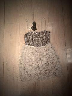 Armani exchange NEW sequinned dress
