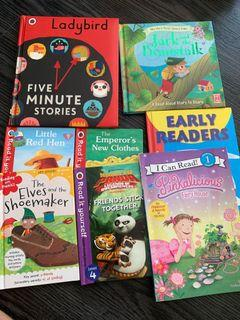 Assorted early readers books
