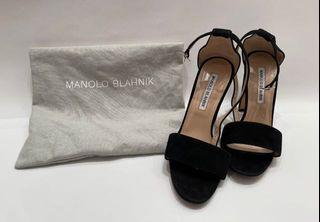 Authentic Manolo Blahnik Chunky Heels