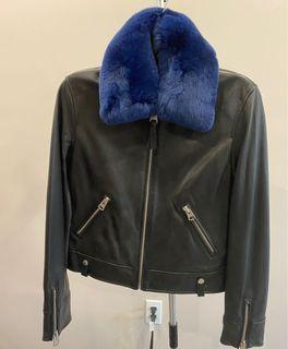 Beautiful Black Mackage Leather Jacket