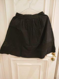 COLORBOX Black flare skirt
